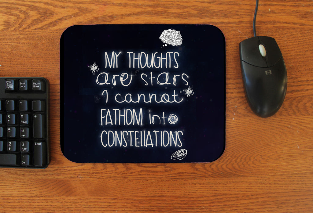 """My Thoughts"" Mousepad"