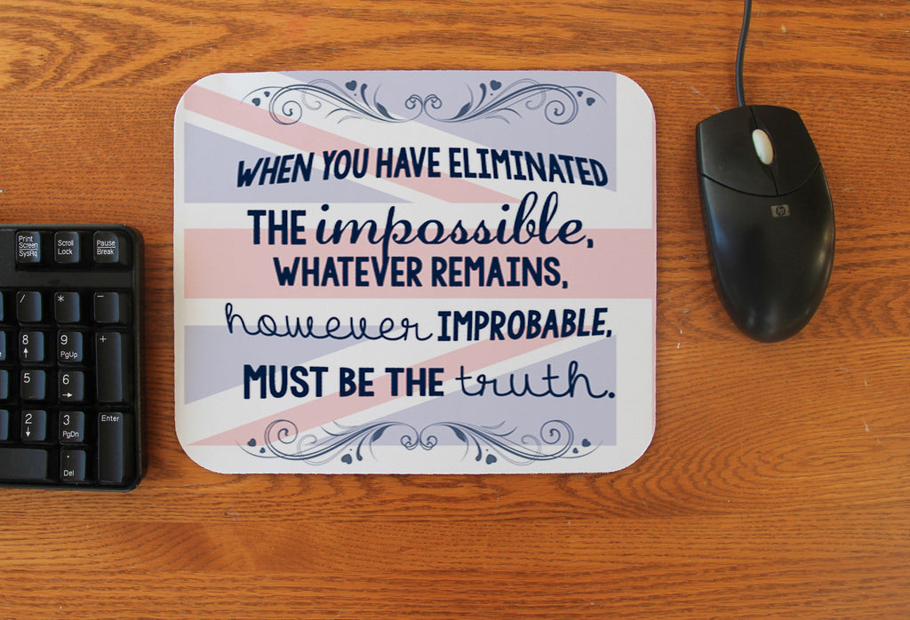 """High Functioning Sociopath"" Mousepad"