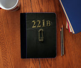 """221b Door"" Faux Suede Notebook 3 Sizes! - Consulting Fangeeks - 1"