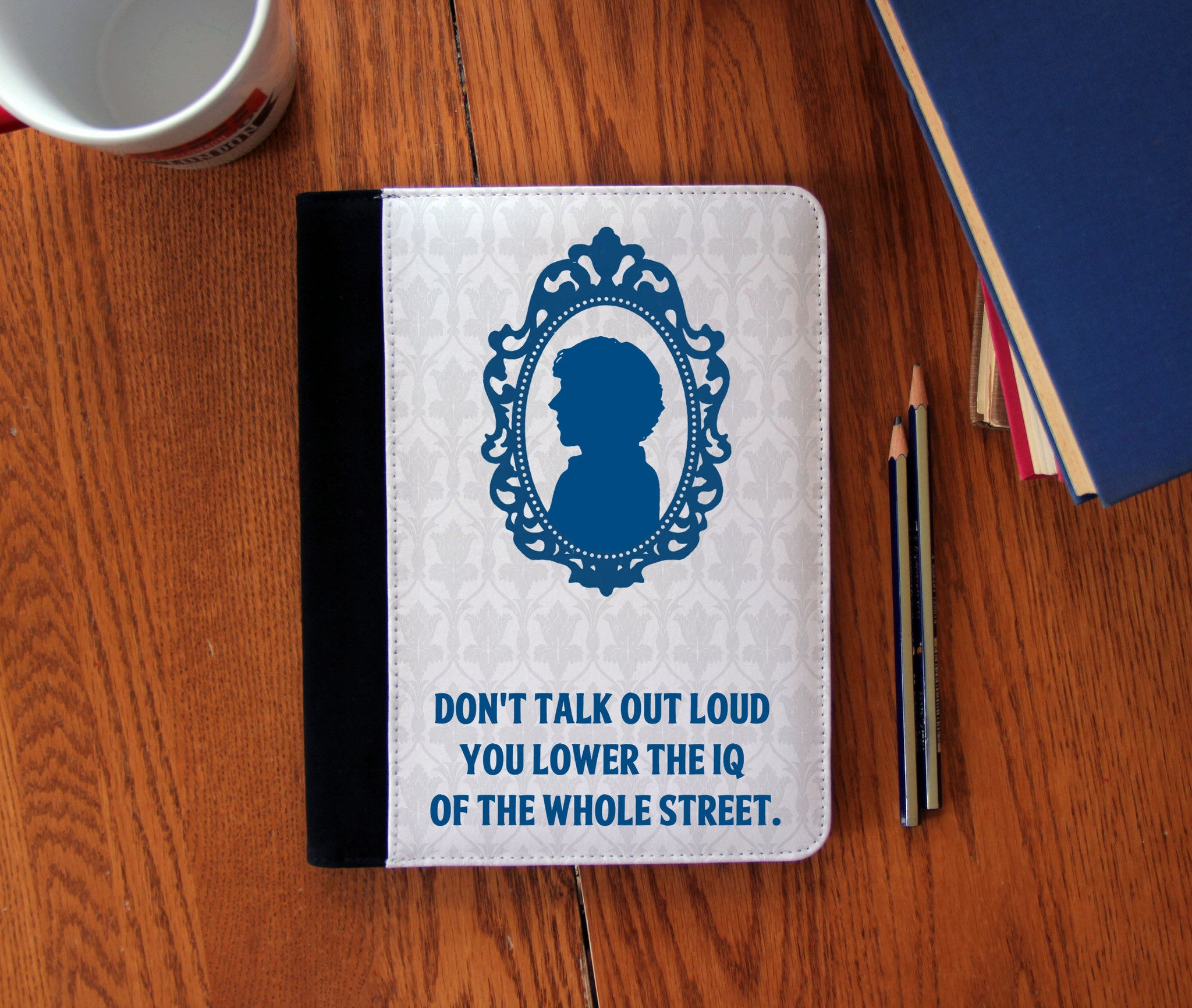"""Shut Up Anderson!"" Faux Suede Notebook 3 Sizes! - Consulting Fangeeks - 1"
