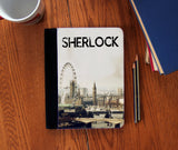 """Opening Theme"" Faux Suede Notebook 3 Sizes! - Consulting Fangeeks - 1"