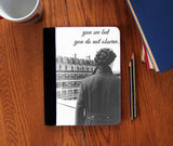 """You Don't Observe"" Faux Suede Notebook 3 Sizes! - Consulting Fangeeks - 1"