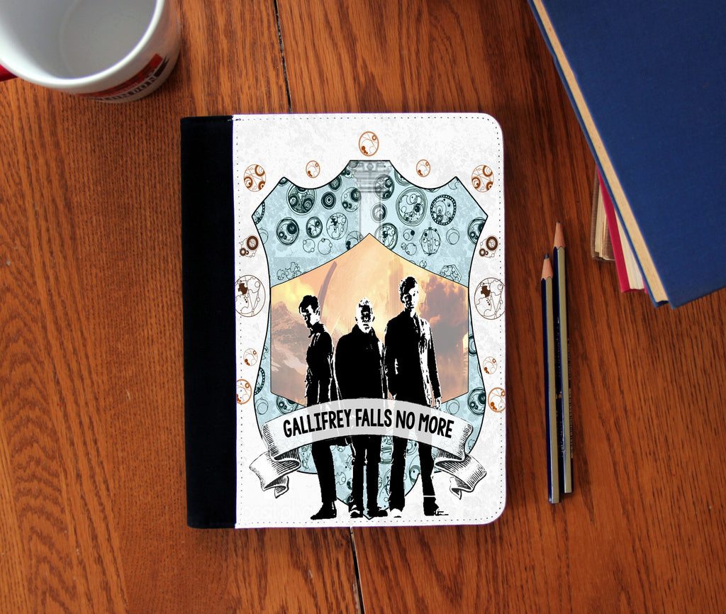 """Gallifrey Falls"" Faux Suede Notebook 3 Sizes!"