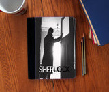 """Silhouette"" Faux Suede Notebook 3 Sizes! - Consulting Fangeeks - 1"