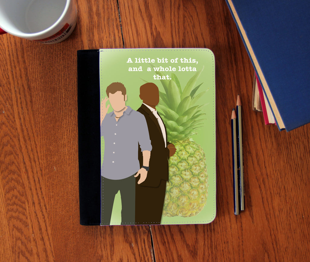 """A Little Bit of This""  Faux Suede Notebook 3 Sizes!"