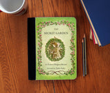 The Secret Garden Book Cover Faux Suede Notebook 3 Sizes! - Consulting Fangeeks - 1