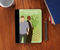 """A Little Bit of This""  Faux Suede Notebook 3 Sizes! - Consulting Fangeeks - 1"