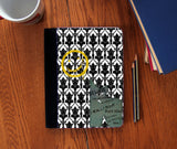 """Bored & Beware!"" Faux Suede Notebook 3 Sizes! - Consulting Fangeeks - 1"