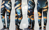Animated Metal Armour Stretchy Geek Leggings - Consulting Fangeeks - 4