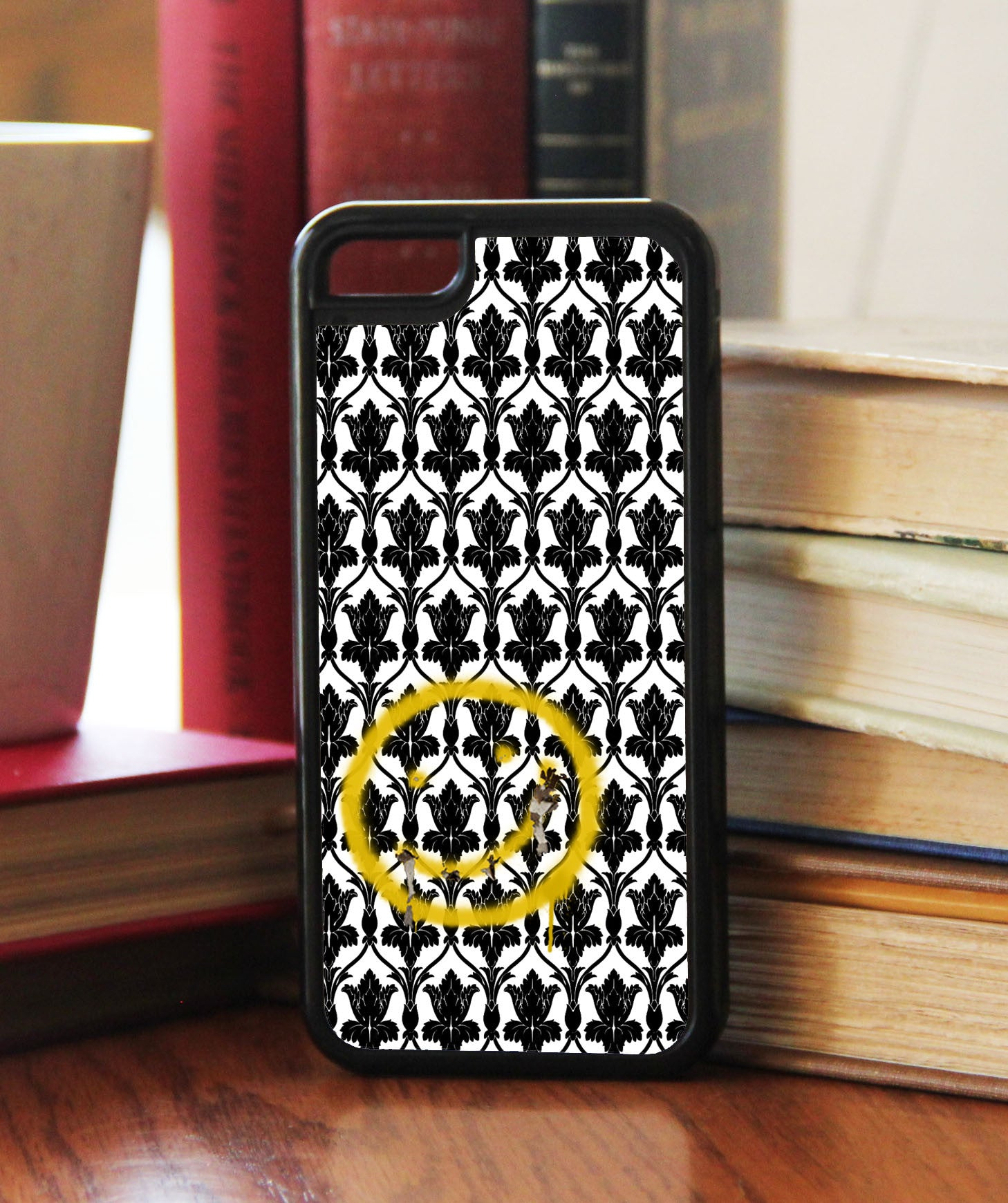 """Bored! Smiley"" Phone/iPod Case - Consulting Fangeeks - 1"