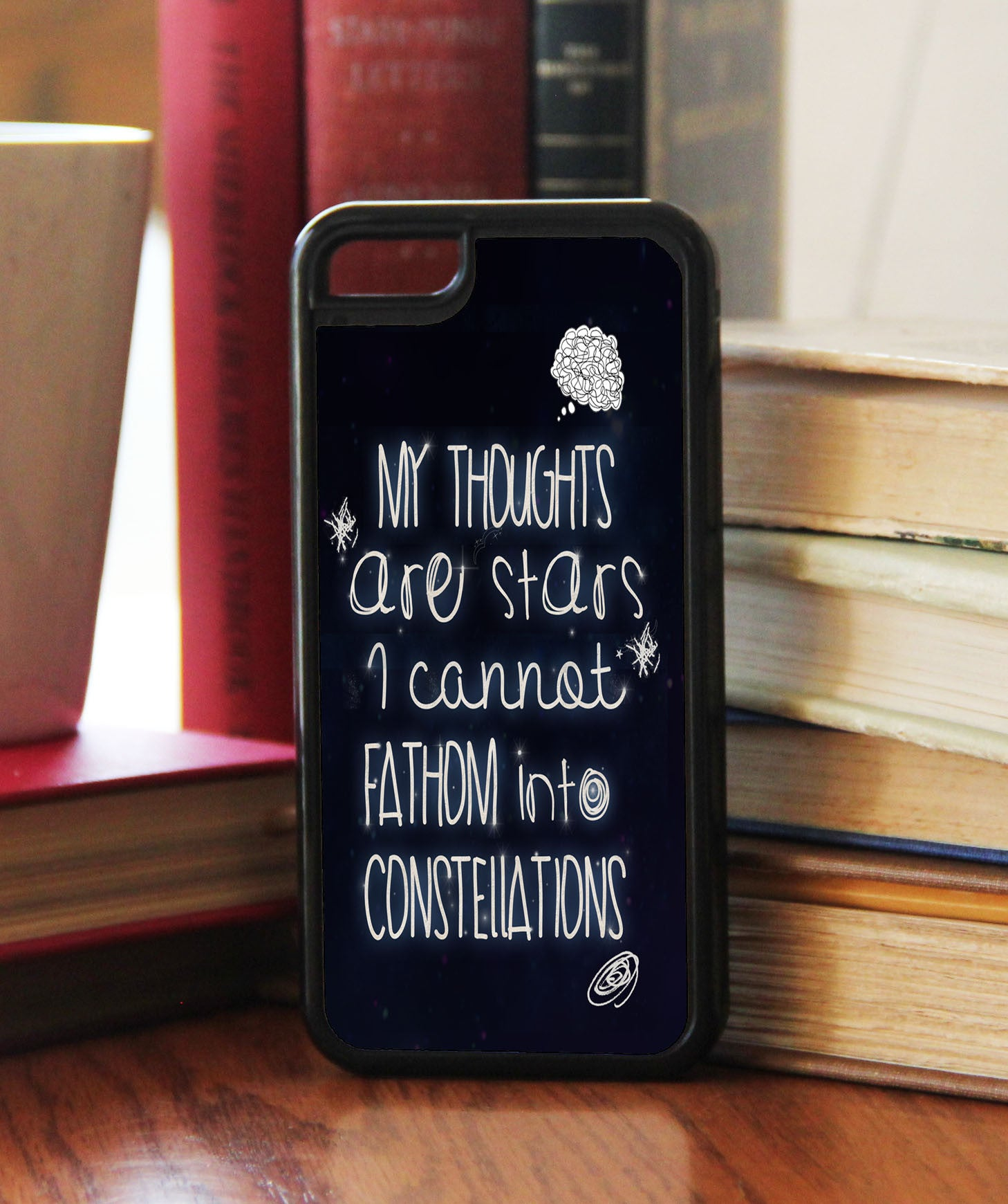 """My Thoughts Are Stars""  Phone/iPod Case - Consulting Fangeeks - 1"