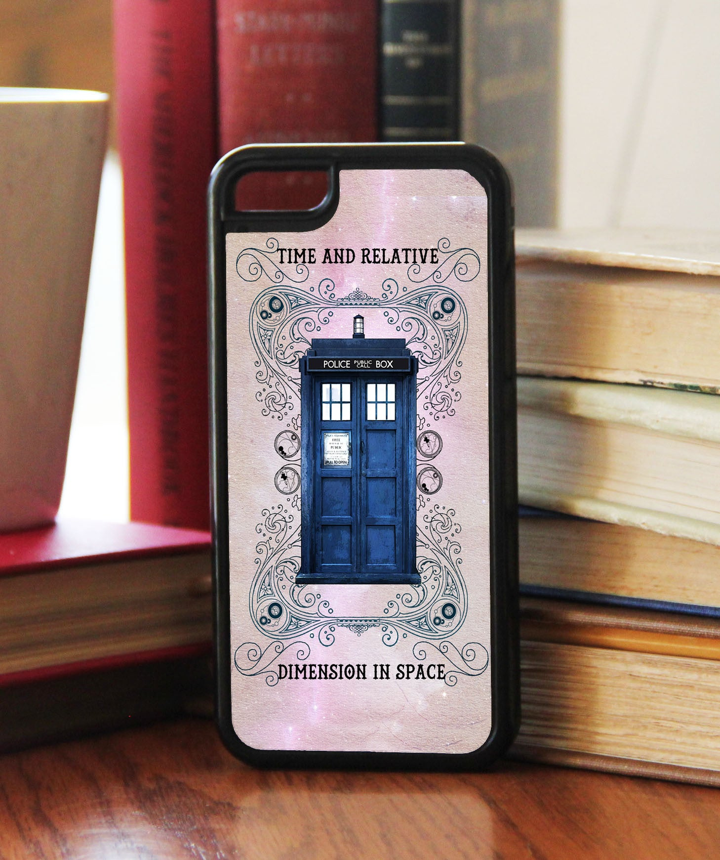 """Grunge Police Box""   Phone/iPod Case - Consulting Fangeeks - 1"
