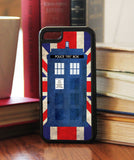 """Police Box in London""  Phone/iPod Case - Consulting Fangeeks - 1"