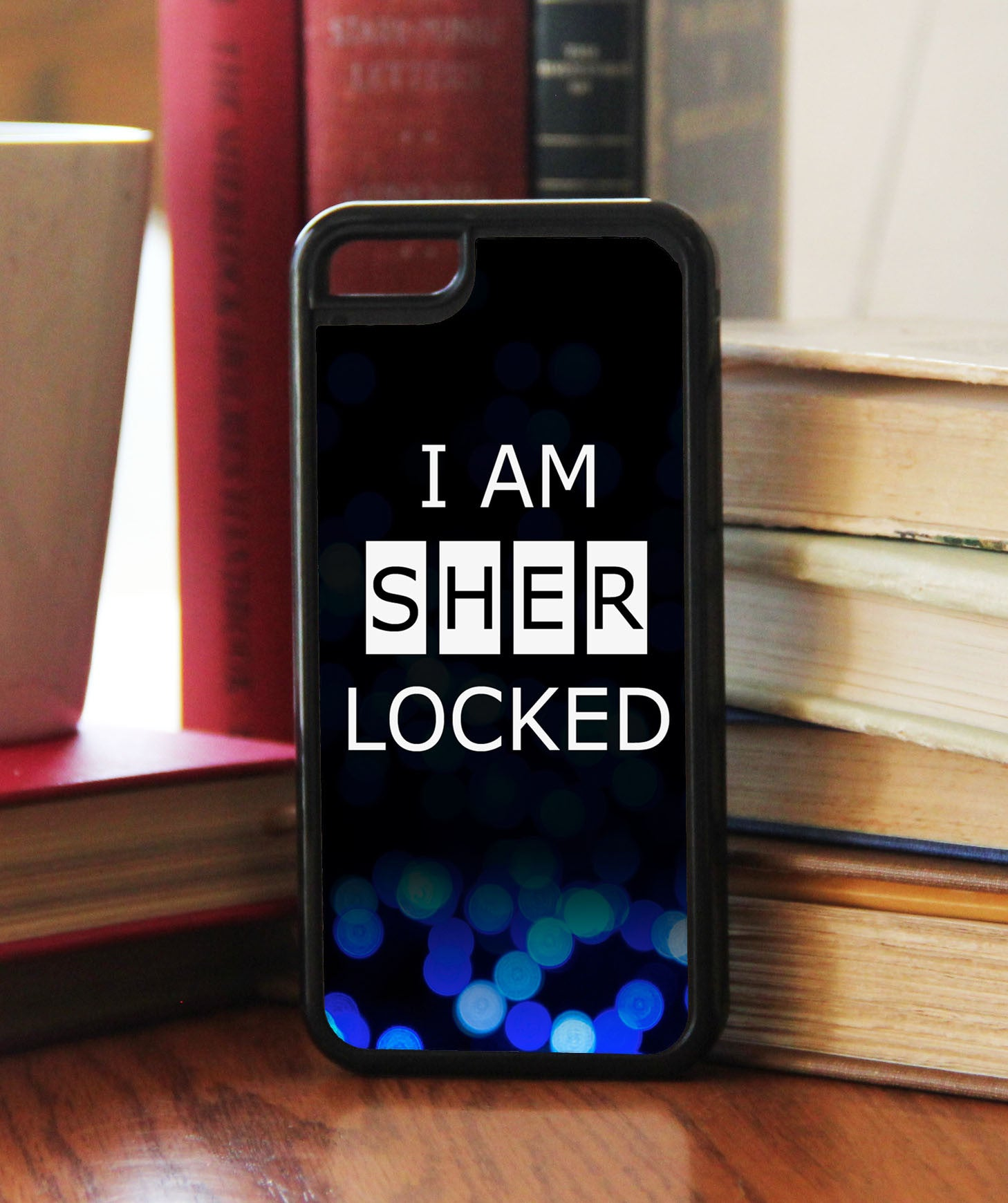 """I Am SHERlocked""  Phone/iPod Case - Consulting Fangeeks - 1"