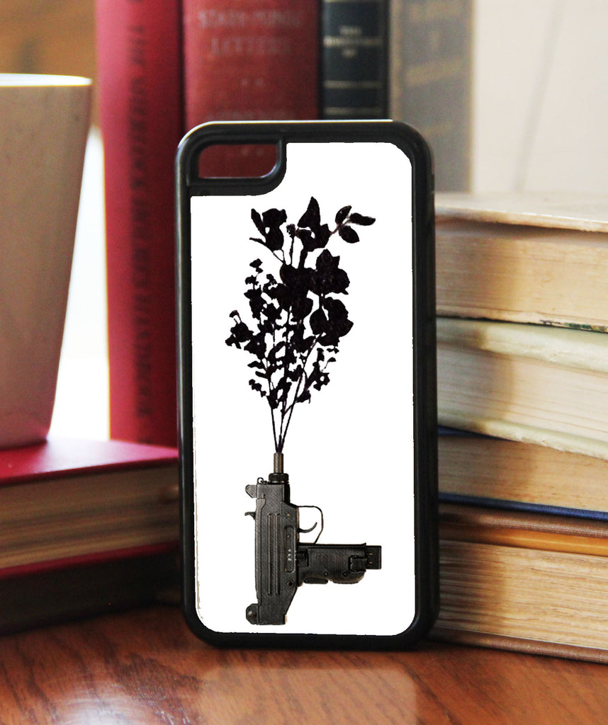 """Uzi Flower""  Phone/iPod Case"
