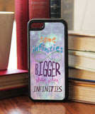 """Some Infinities Are Bigger""  Phone/iPod Case - Consulting Fangeeks - 1"