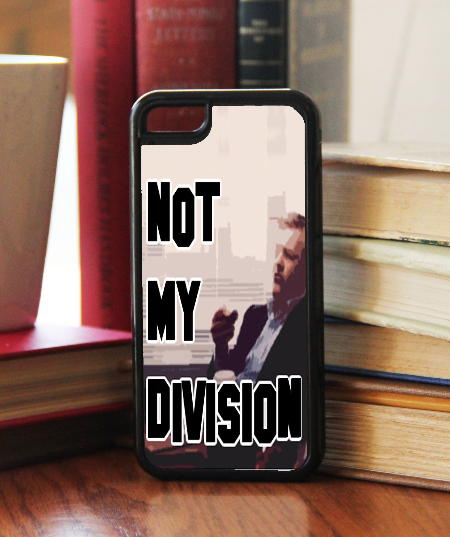 """Not My Division""  Phone/iPod Case - Consulting Fangeeks - 1"
