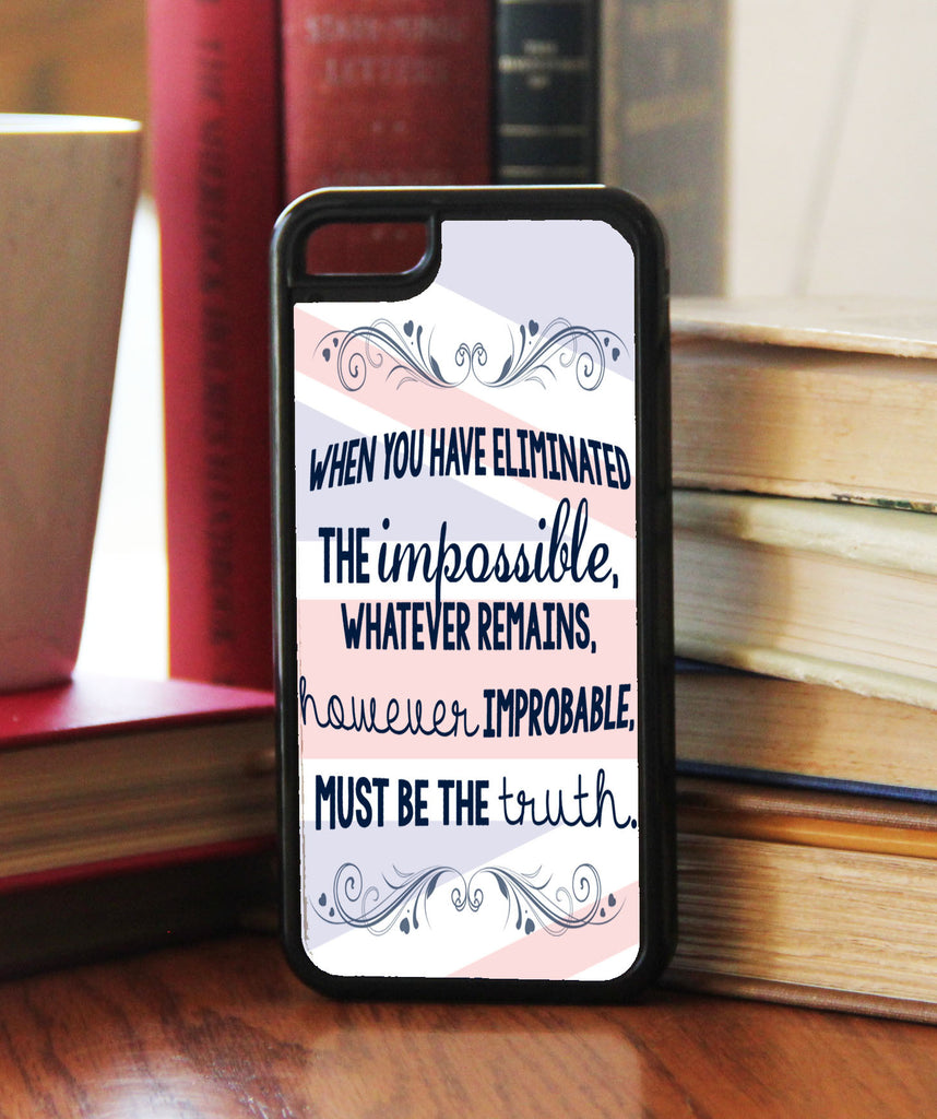 """Eliminated The Impossible""  Phone/iPod Case"