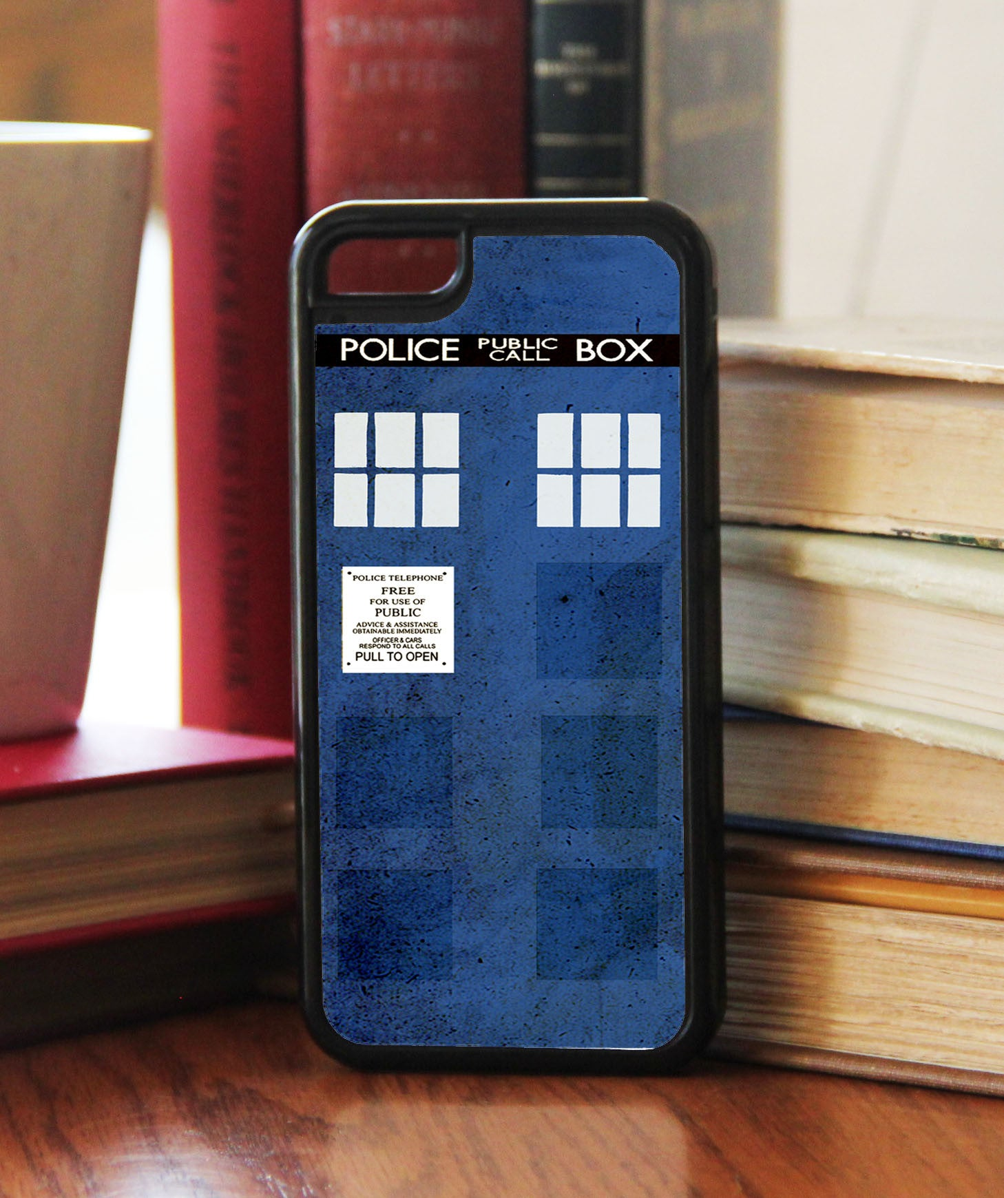 """Police Box""   Phone/iPod Case - Consulting Fangeeks - 1"