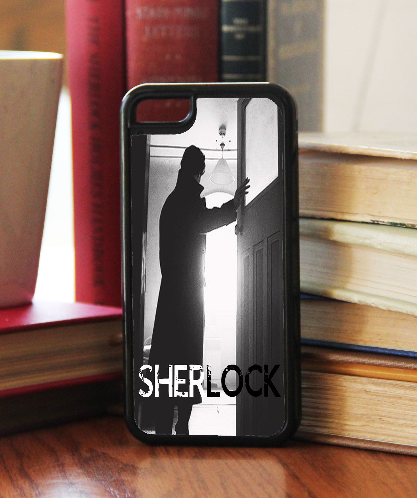 """Sherlock Silhouette""  Phone/iPod Case - Consulting Fangeeks - 1"