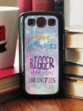 """Some Infinities Are Bigger""  Phone/iPod Case - Consulting Fangeeks - 2"