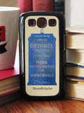 """Dreamer of Improbable Dreams""  Phone/iPod Case - Consulting Fangeeks - 2"