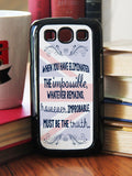 """Eliminated The Impossible""  Phone/iPod Case - Consulting Fangeeks - 2"