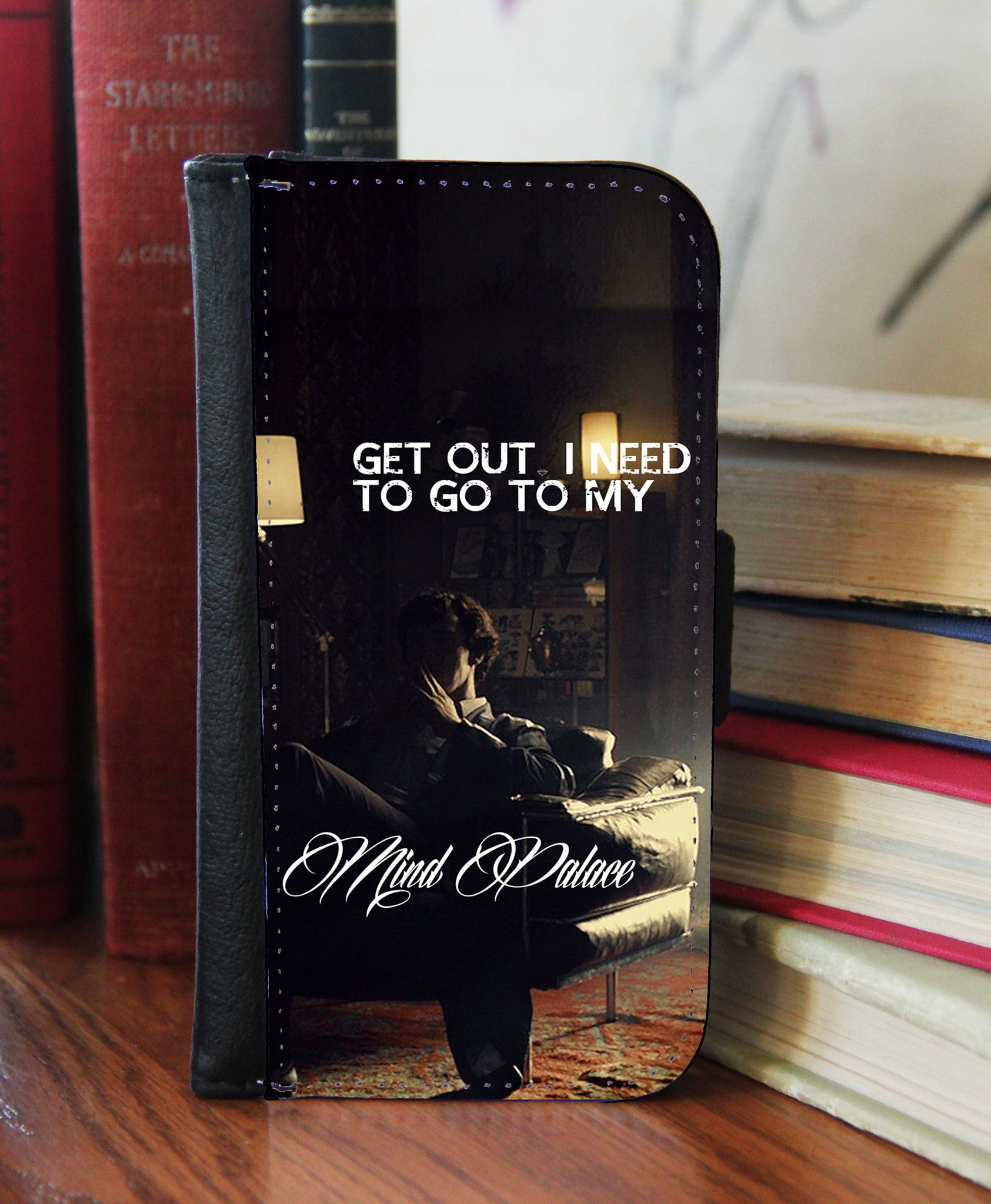"""Mind Palace""  2in1 Phone Wallet - Consulting Fangeeks - 1"