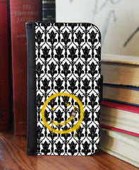 """BORED! Smiley"" 2in1 Phone Wallet - Consulting Fangeeks - 1"