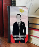 """See Me in a Crown"" 2in1 Phone Wallet - Consulting Fangeeks - 1"