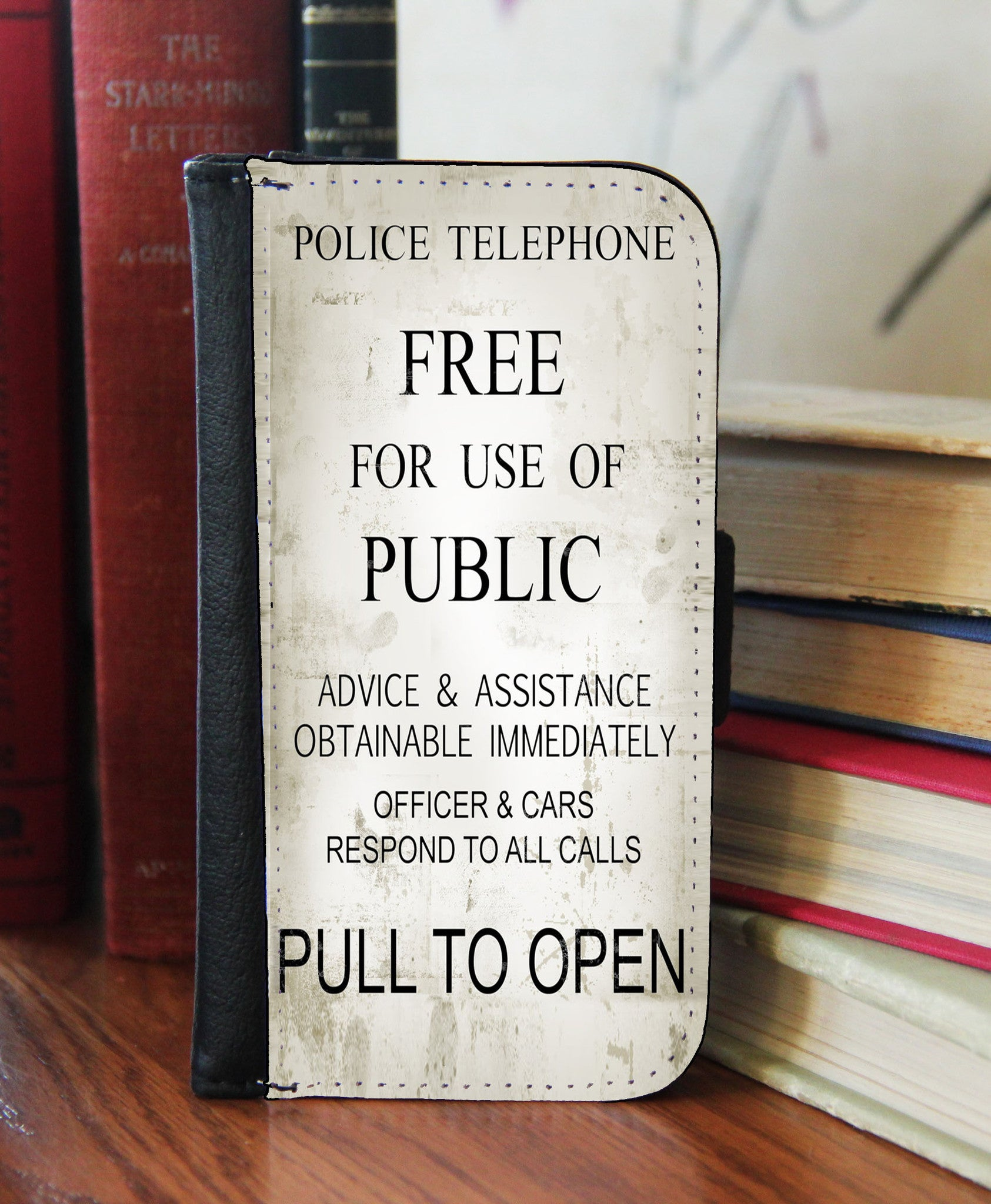 """Pull To Open""  2in1 Phone Wallet - Consulting Fangeeks - 1"