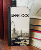 """Opening Theme London"" 2in1 Phone Wallet - Consulting Fangeeks - 1"