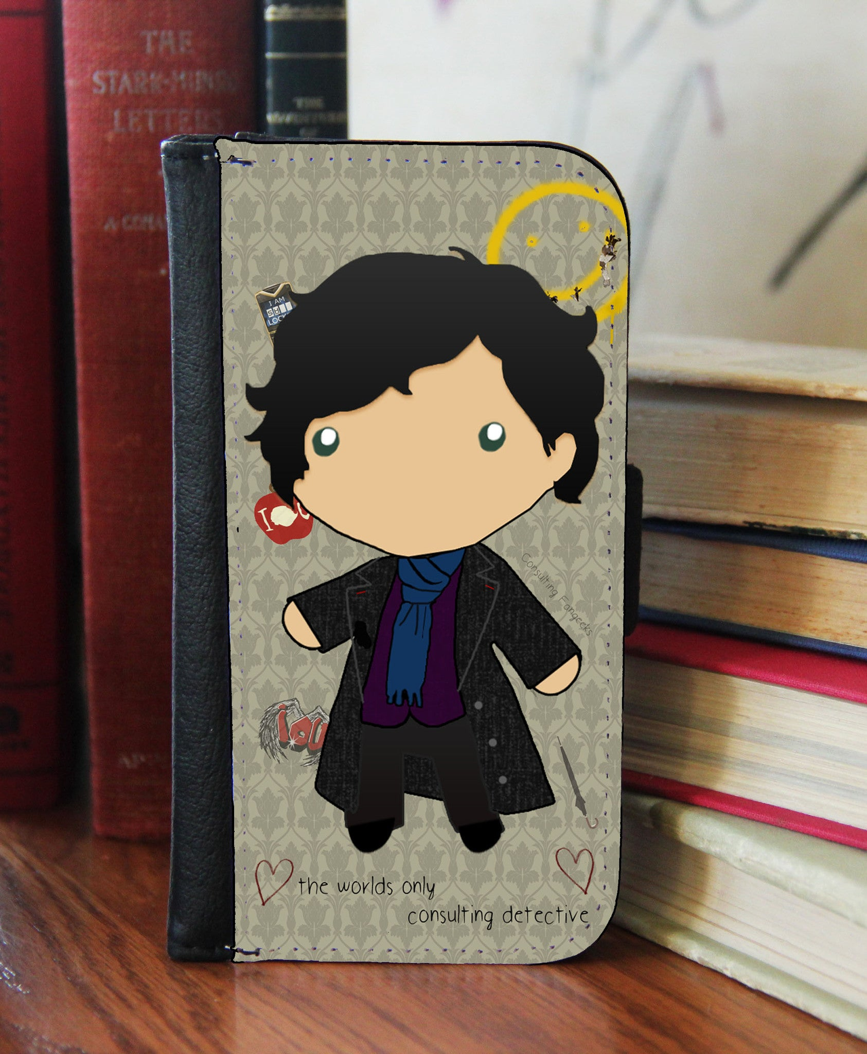 "Copy of ""Baby Sherlock"" 2in1 Phone Wallet - Consulting Fangeeks - 1"
