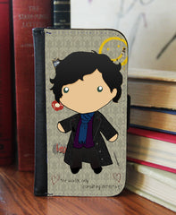 """Baby Sherlock"" 2in1 Phone Wallet - Consulting Fangeeks - 1"