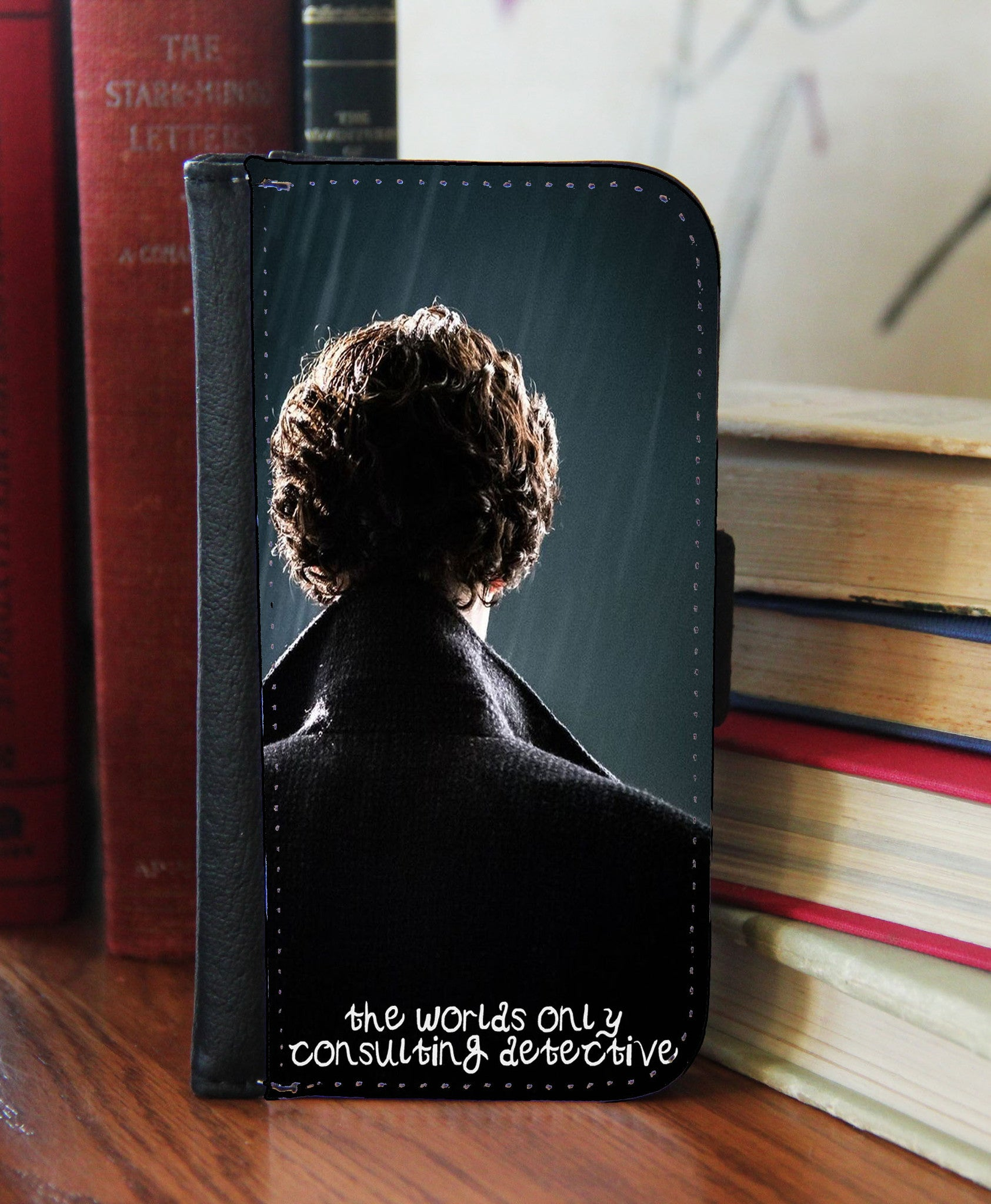 """Consulting Detective""  2in1 Phone Wallet - Consulting Fangeeks - 1"