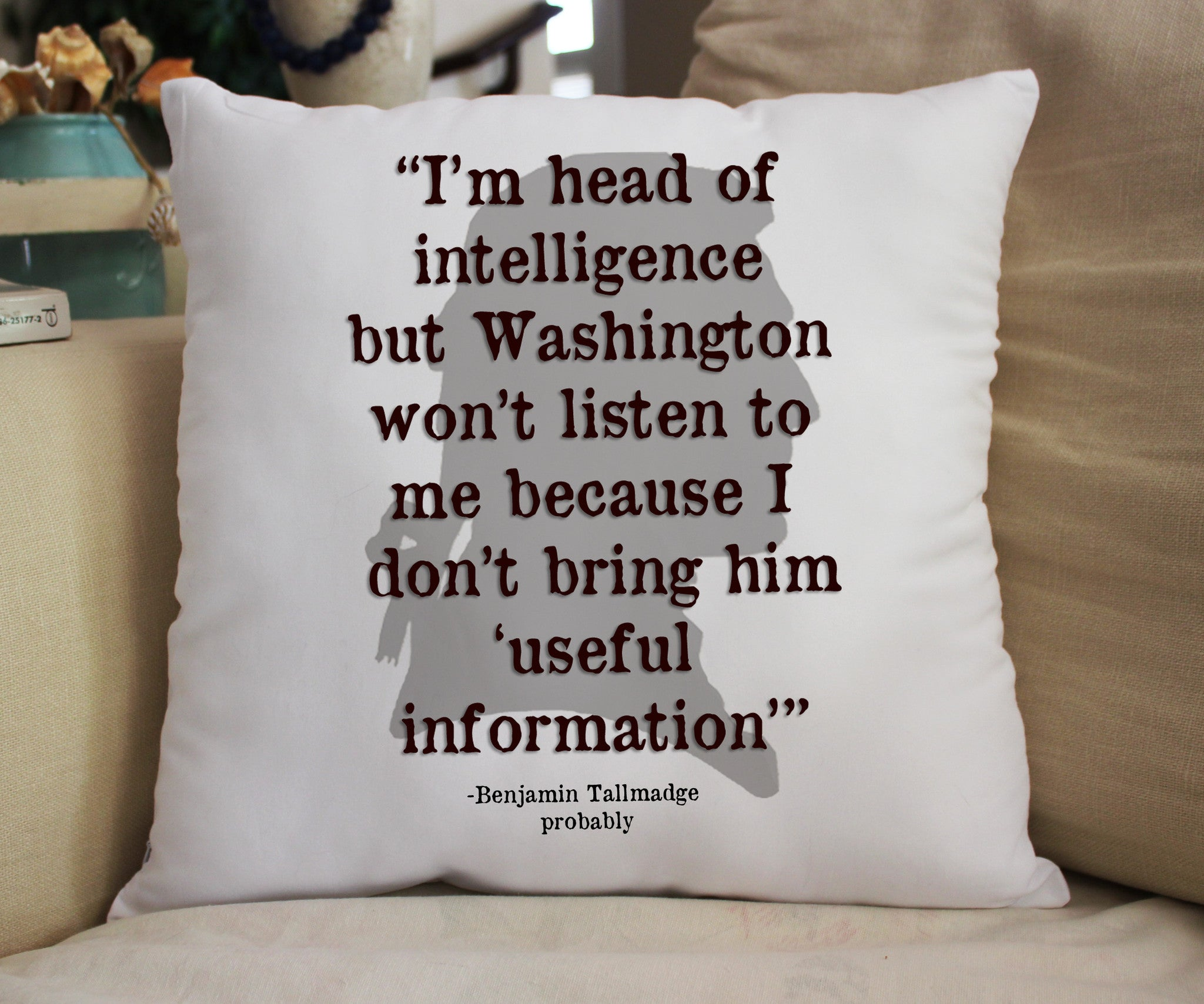 "Ben Quote Fanpillow 14"" - Consulting Fangeeks"