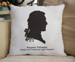 "Ben Tallmadge Silhouette Fanpillow 14"" - Consulting Fangeeks"