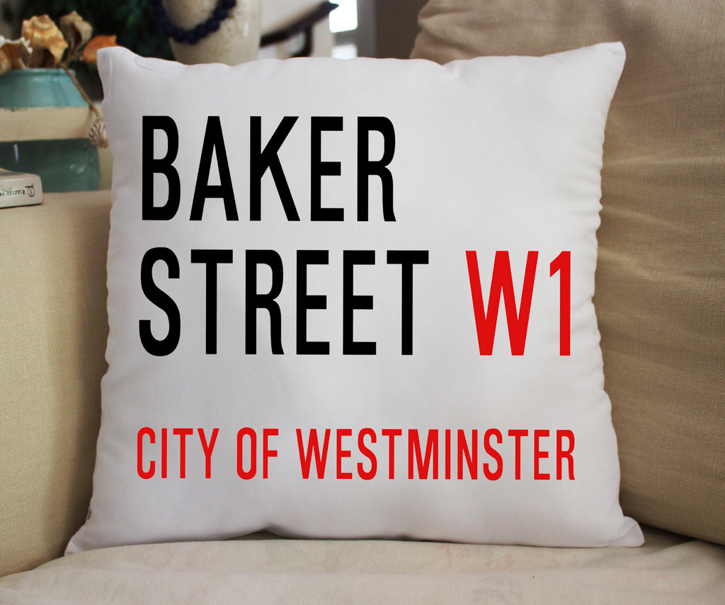 Baker Street Pillow