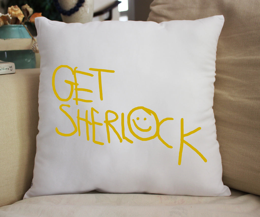Get Sherlock Pillow