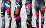 Animated Metal Armour Stretchy Geek Leggings - Consulting Fangeeks - 5