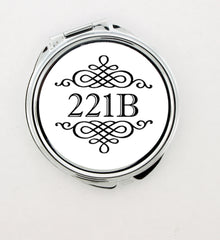 """221b"" Foldable Hand Mirror - Consulting Fangeeks - 1"