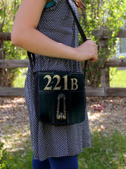 """221b Door""  Messenger Bag"