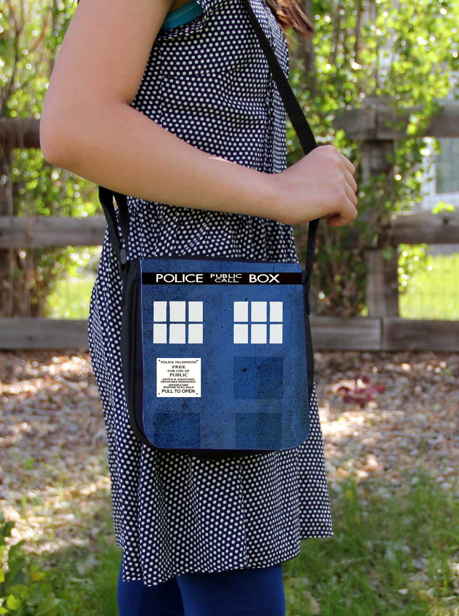 Police Box Messenger Bag - Consulting Fangeeks - 1