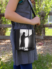 """Sherlock Silhouette""  Sm. Messenger Bag - Consulting Fangeeks - 1"