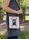 Police Box Grunge Messenger Bag - Consulting Fangeeks - 1