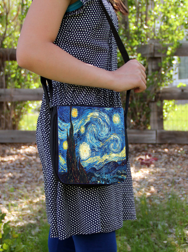 Starry Night Messenger Bag
