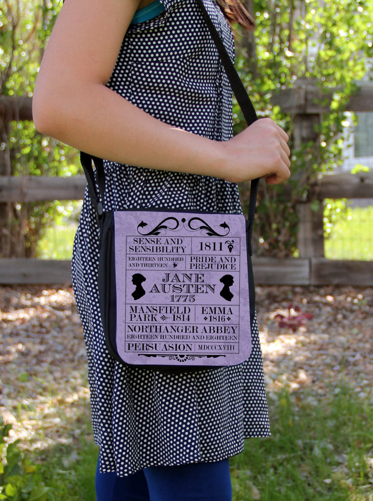 Austen Books Messenger Bag