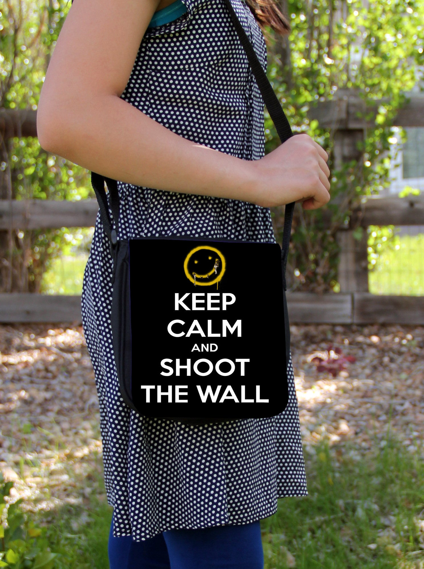 Keep Calm Messenger Bag - Consulting Fangeeks - 1