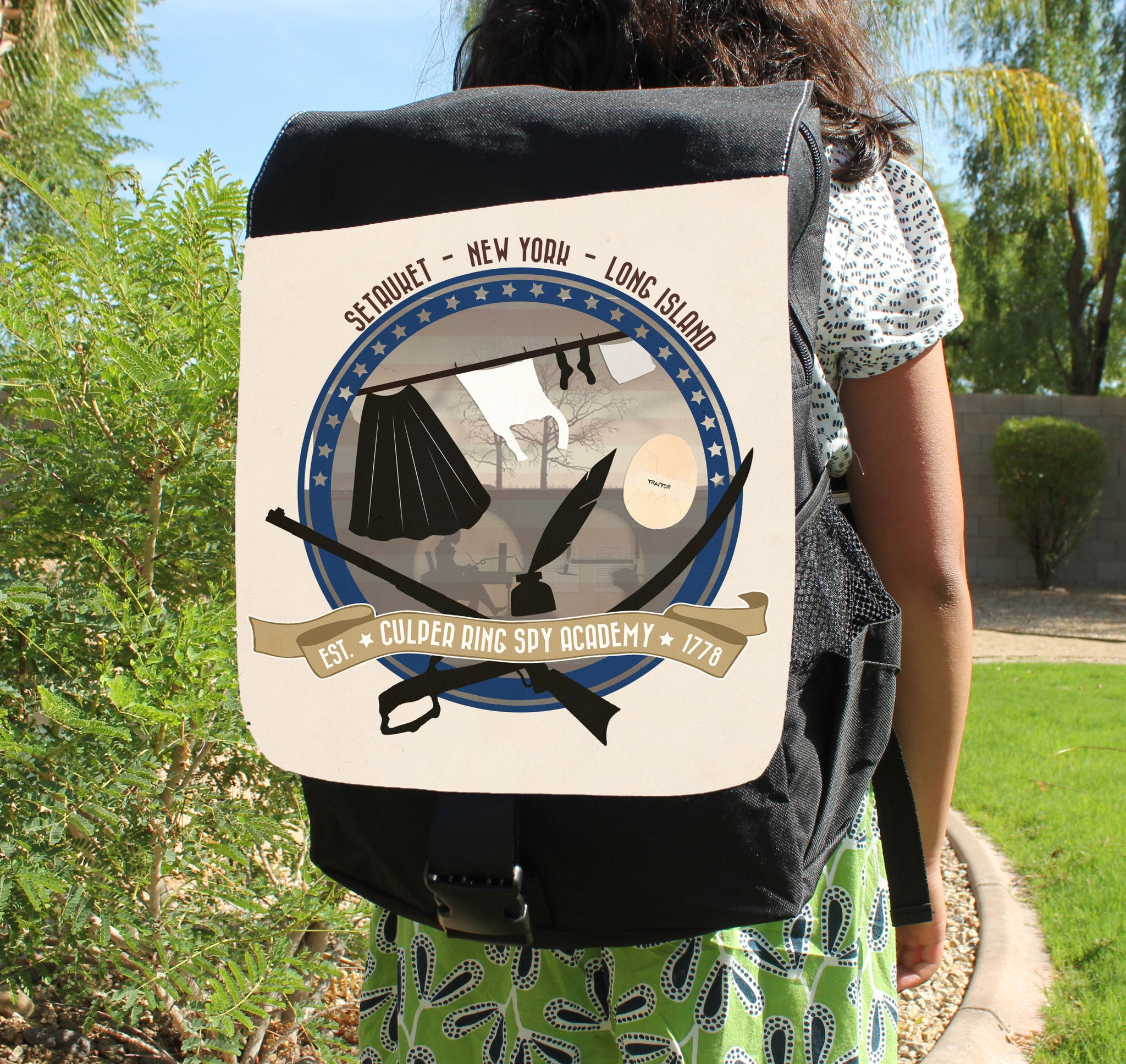 Culper Spy Academy Backpack - Consulting Fangeeks - 1