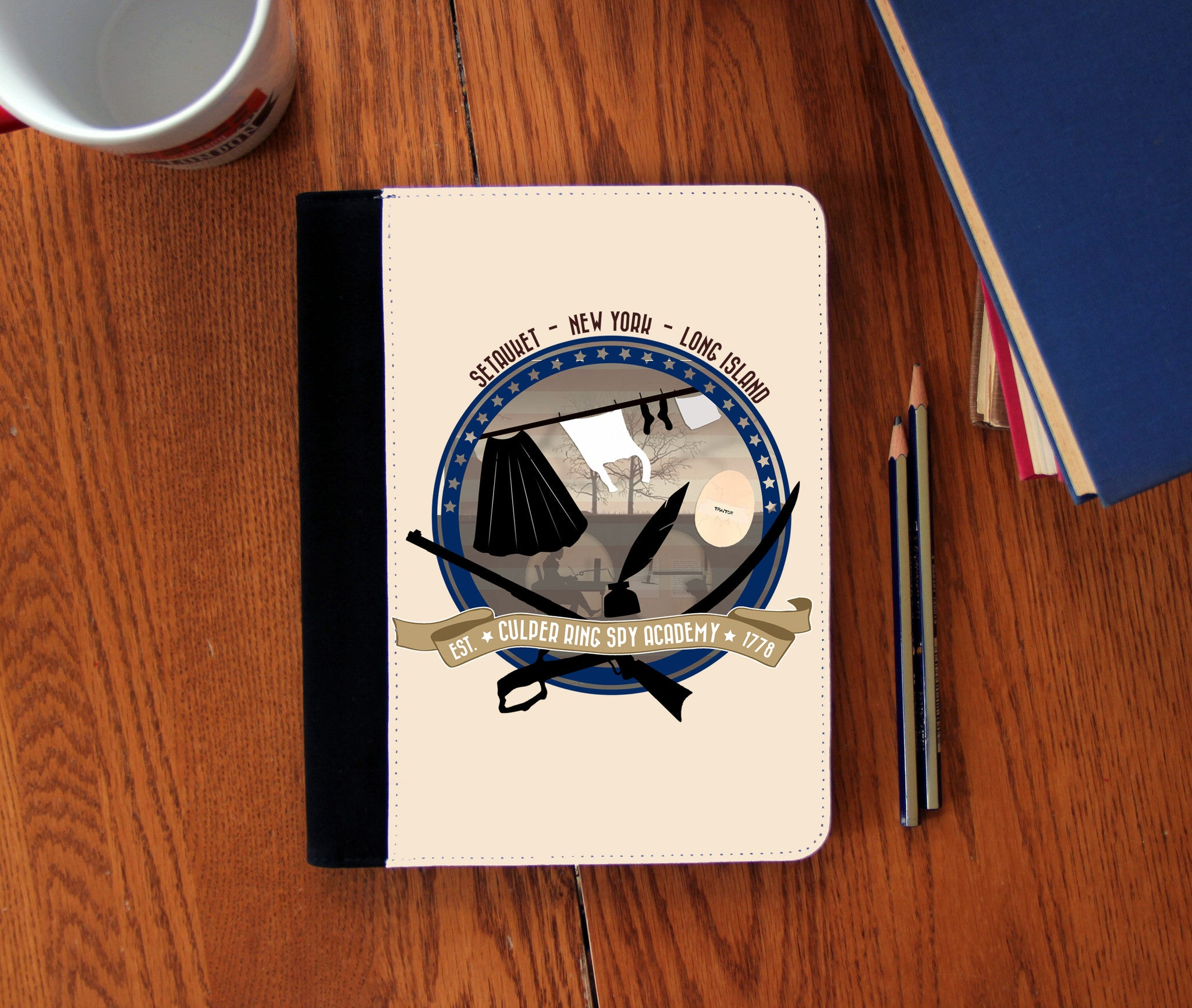 Culper Spy Academy Notebook - Consulting Fangeeks - 1